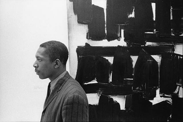 John Coltrane at the Guggenheim, New York City, 1960 by William Claxton