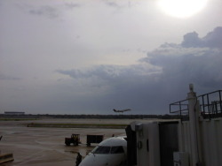 Storms rolling through at the Memphis Airport.  Thankful my flight was not canceled and everyone made it to the event safely.