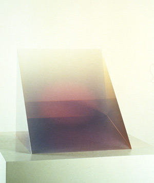 Violet Wedge, 1969, Peter Alexander