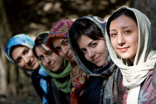these are the faces of Iran