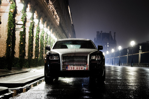 Rolls-Royce Ghost visiting Paris, France. Photo by JR, via theautoinsider.