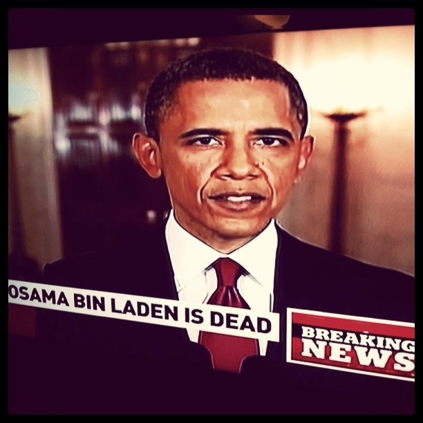 chrisboutet:  Osama bin Laden is dead. (Taken with instagram)