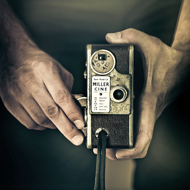 Cuba Gallery: Retro / vintage / camera / hands / photography by ►CubaGallery on Flickr.