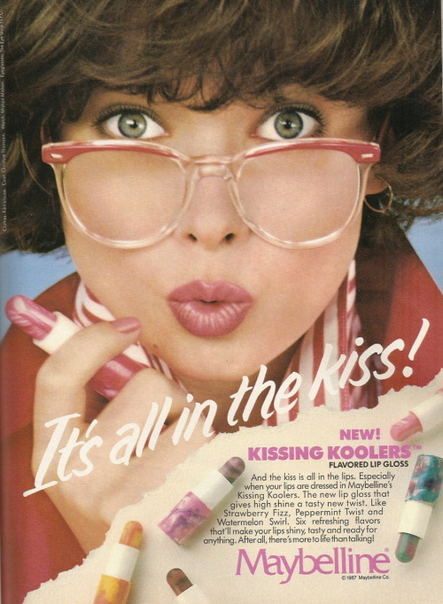Kissing Koolers via fuckyeah1980s: apocalypgloss