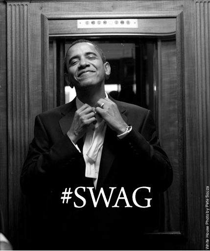 fattyftw:   yay obama!  I pledge allegiance to the swag!