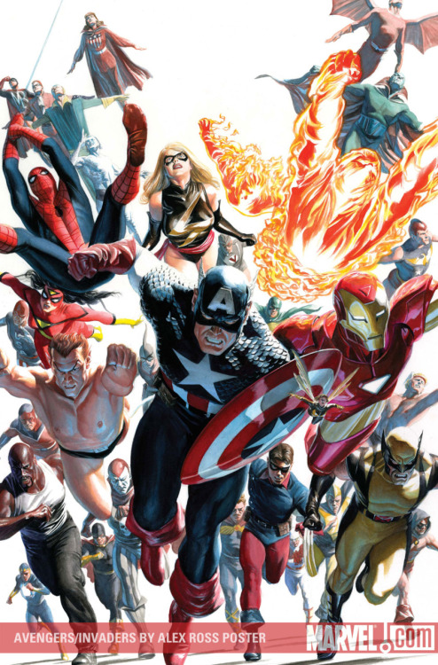 Artwork : Avengers par Alex Ross