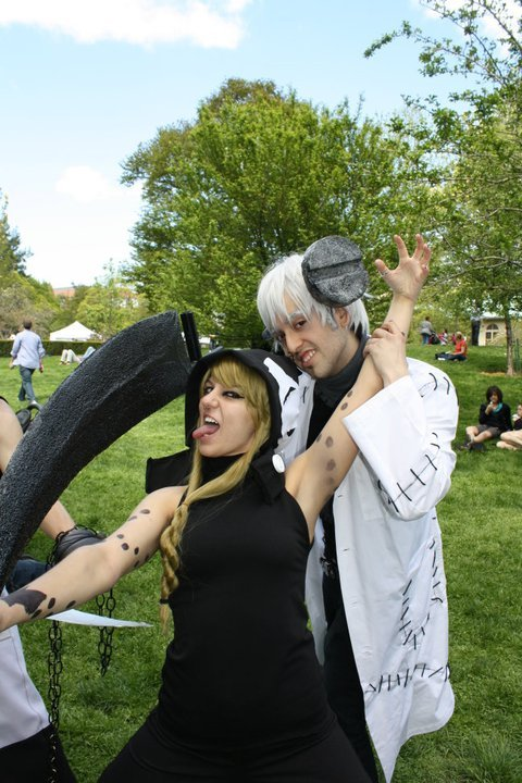Sakura Matsuri 2011 with me showing some Medusa love.