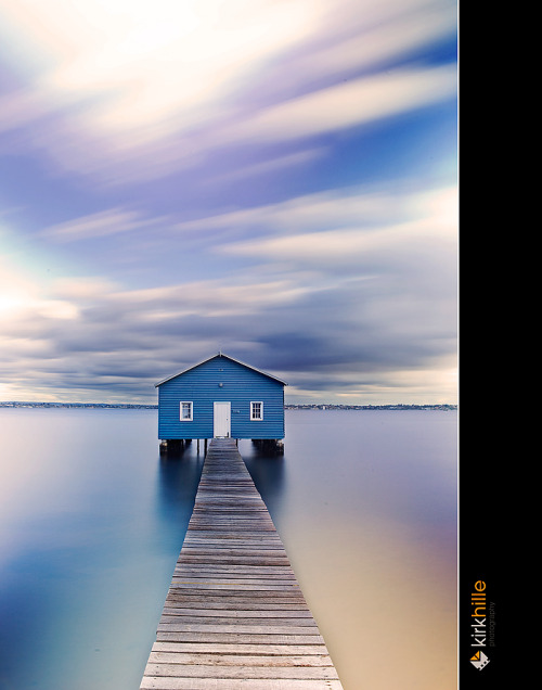 The house at the end of the world Matilda Bay Boat House, by Furiousxr