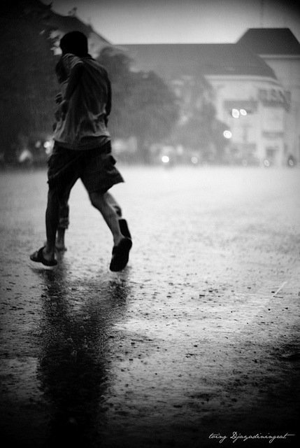 raindontgoaway:  Run in the rain by toing djayadiningrat on Flickr.