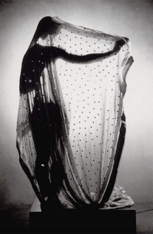 Veiled dancer, c.1933 by Erwin Blumenfeld from Erwin Blumenfeld - His Dutch Years (1918-1936) Ed. The Hague Museum of Photography, The Hague, 2006 thanks to chagalov
