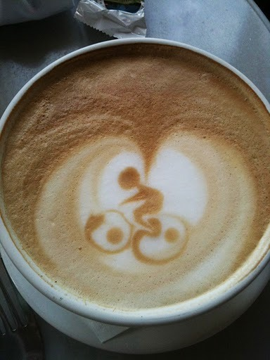 *Coffee - Bike - Delicious* By psycle