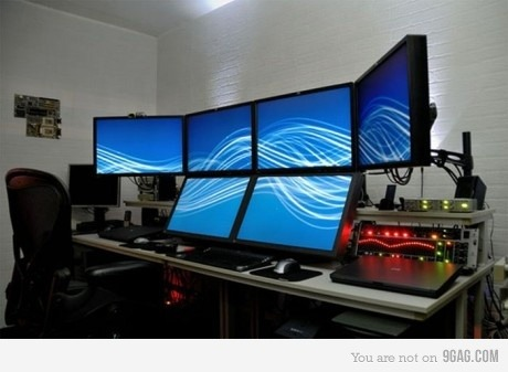 Una pantallita no mas! 9gag:  WANT!!