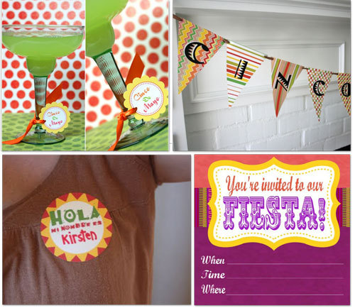 (via Cinco de Mayo ~ 17 Last Minute Food, Printables, Party Decor — Tip Junkie)