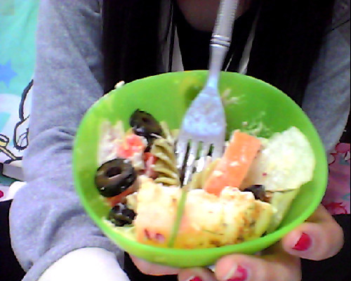 strawberryfieldsfor-ever:  supposedly a salad eheheh