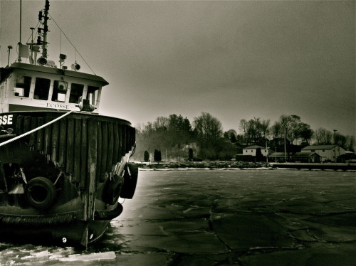 Arctic Boatyard - Harbor St., Port Dover, Ontario, Canada Photo by: Cam Standish. Edited by: Cam Standish