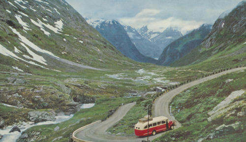 Hjelle Valley, Norway, 1957