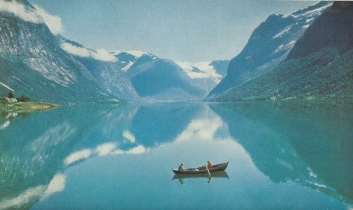 Loen Lake, Norway, 1957