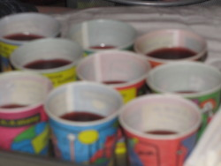 JELLO SHOTS!! <3