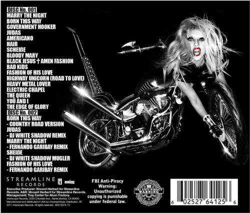 fuckyeahladygaga:  BORN THIS WAY SPECIAL EDITION TRACKLISTING 5.23.11  Can not wait