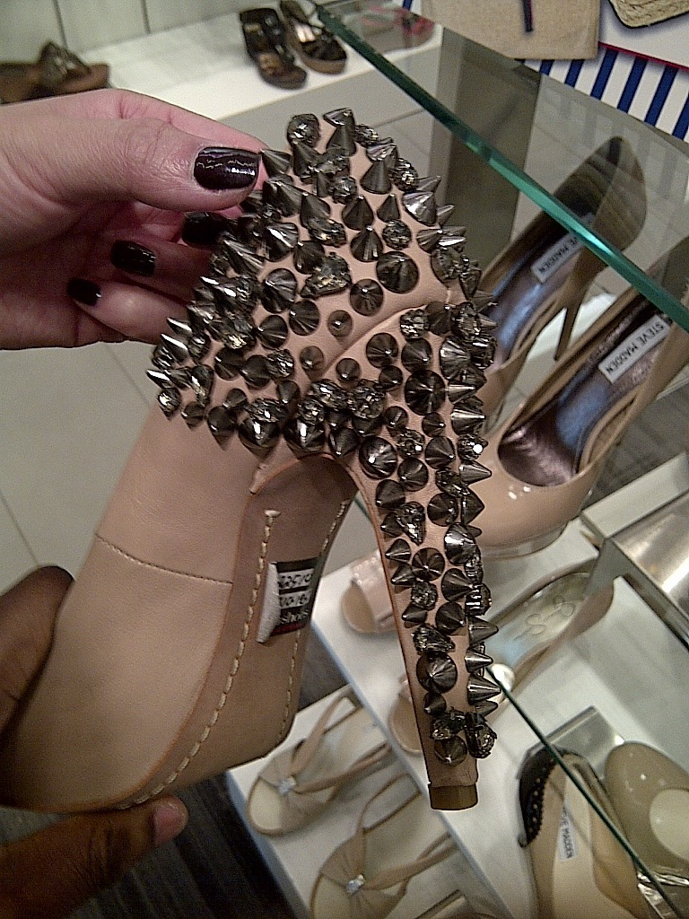 Studded madness from Sam Edelman. Might pull these for the show this weekend.