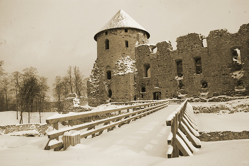 platosstepchild:  Cesis Castle in Latvia.