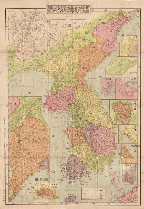 cartographymaps:  Unknown, 1911, Korea