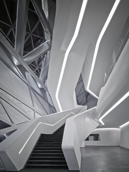 archiphile:  GUANGZHOU OPERA HOUSE by Zaha more stairs
