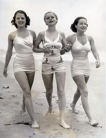 фото - купальники 40-х