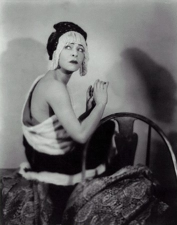 Alla Nazimova ,1925 by Maurice Goldberg