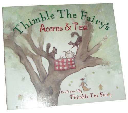 I now have my very own advance copy of Thimble the Fairy's Acorns & Tea CD! I got to see the book, too, which turned out marvelously. I am assured both book and CD will be available soon. We're also in preliminary stages for book two—Into Thimbleberry Forest! http://www.thimblethefairy.com/