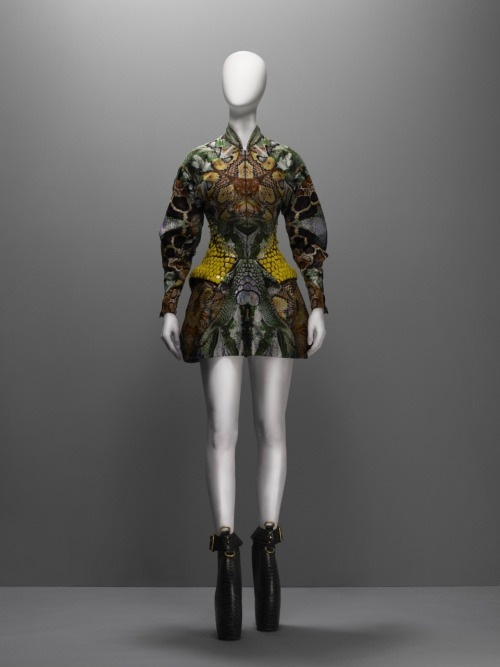 "Alexander McQueen ""Plato's Atlantis"" dress ca. 2010"