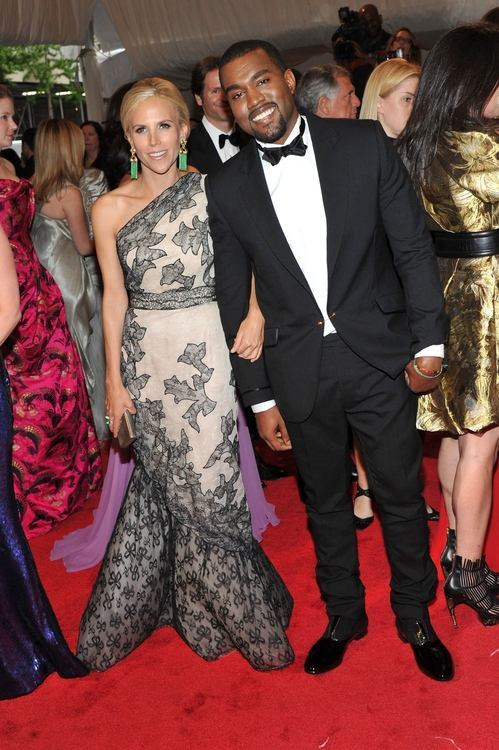 The Met Gala 2011…   TB in TB and KW in TB. Tory custom made his tux which was modeled after a tux her father had worn.  classic.