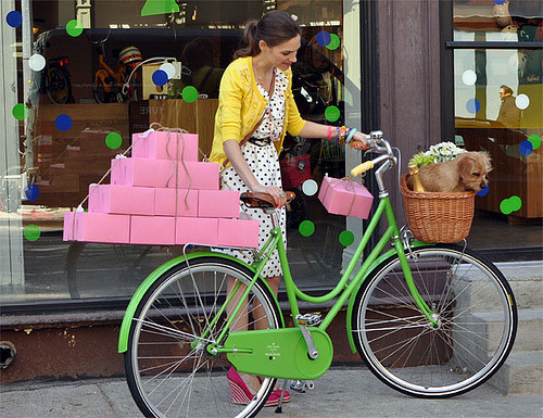 sandcastlesinair:  Kate Spade New York Bicycle