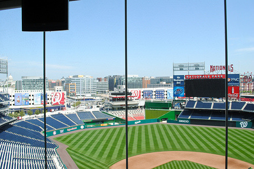 Washington, DC - Nationals Stadium (View from the Press Box)