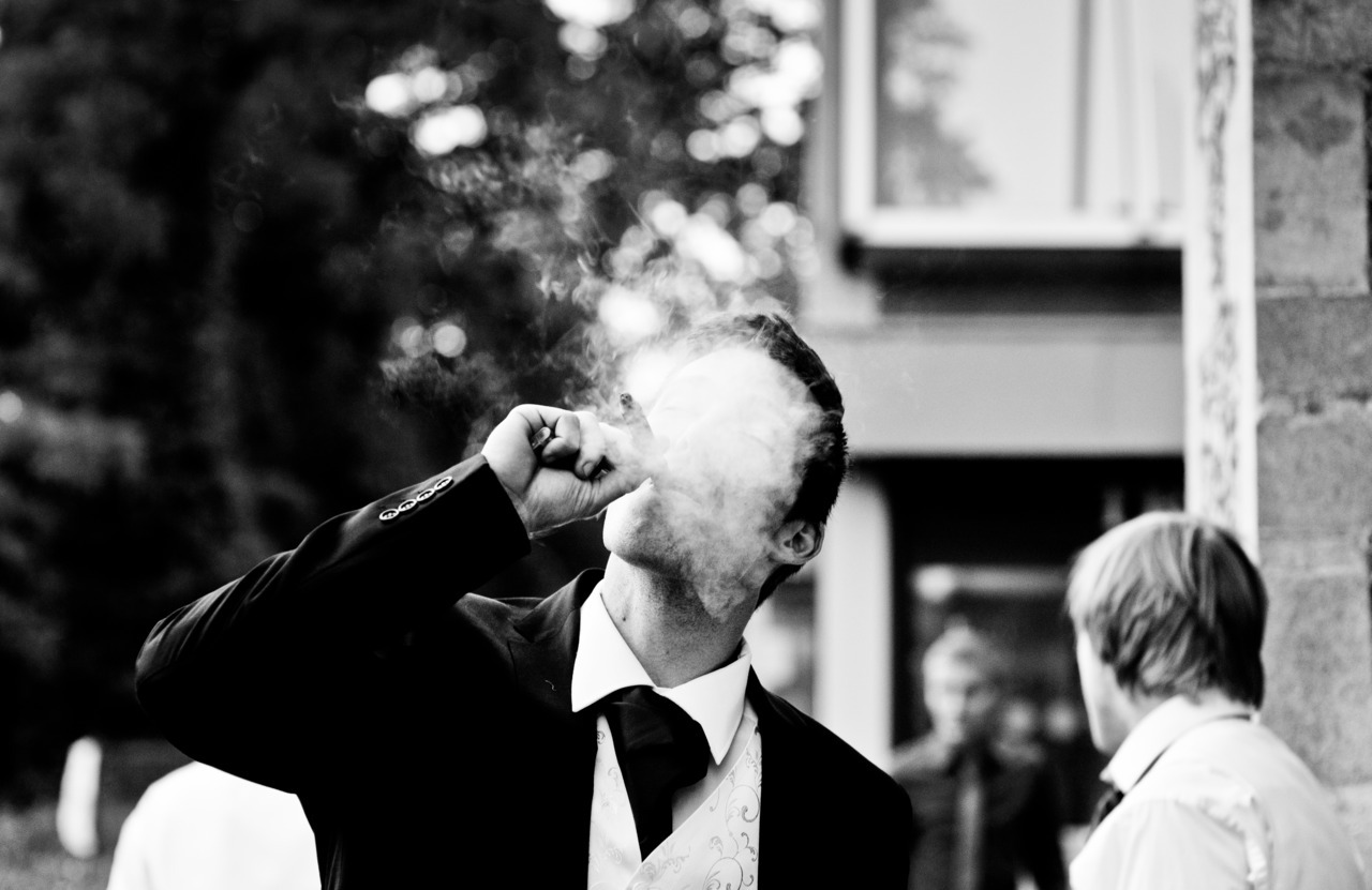 "PHOTO-OF-THE-WEEK: ""SMOKEFACE""…one of my favourite images from the 2011 Wedding season so far. V."