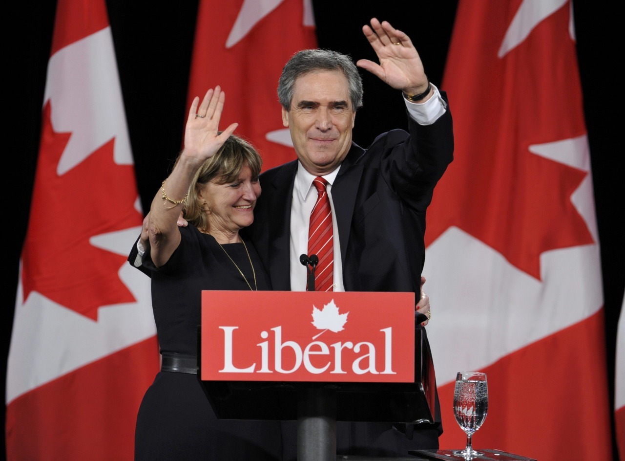 Liberal leader Michael Ignatieff waves next to his wife Zsuszanna Zsohar on stage while speaking to supporters. (Mike Cassese/Reuters) Conservatives set to form majority, NDP poised to form oppositionThe NDP appeared certain to form the country's official opposition for the first time in the party's history, coming in second to the reigning Conservatives, whose long-running quest to attain a majority government got off to a strong start in Atlantic Canada and elsewhere in Monday's federal election. With all 308 ridings reporting, the Tories were leading or had won 167 seats — well past the 155 needed for a majority — and the NDP were leading or had won 104 ridings. A decimated Liberal Party was on track to win just 33 seats, and the Bloc were poised to dwindle to just three.