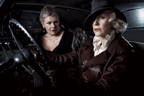 carnivaloftherandom:  Gorgeous and badass. Dames Helen Mirren and Judi Dench.