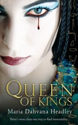 Queen of Kings ascends its throne May 11th . Here's what Fantasy Book Critic has to say about this thrilling debut novel. Meanwhile, there are still 9 days left to pre-order your copy. 1000 #QueenOfKings preorders get Signed Snake Bookplates. ONE lucky person who pre-orders gets a special copy signed by author Maria Dahvana Headley, Neil Gaiman and other very important literary people. See details on Maria's website