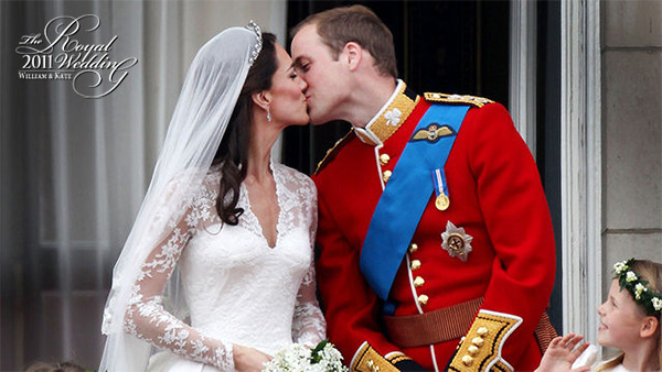 Seal it with a kiss. After eight years of courtship, Prince William finally wed the love of his life.