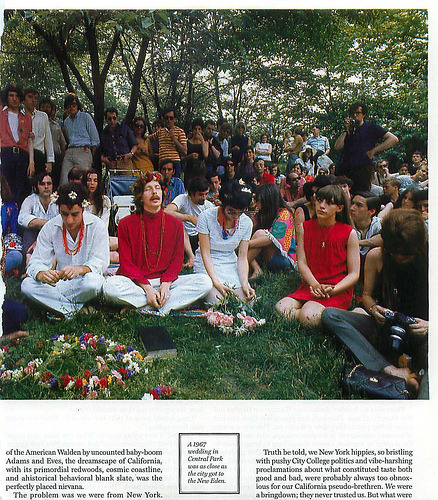 Hippie Wedding, Central Park (by robgiampietro)