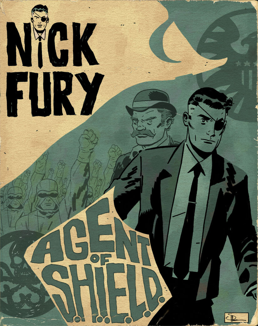 Nick Fury: Agent of SHIELD by Doc Shaner