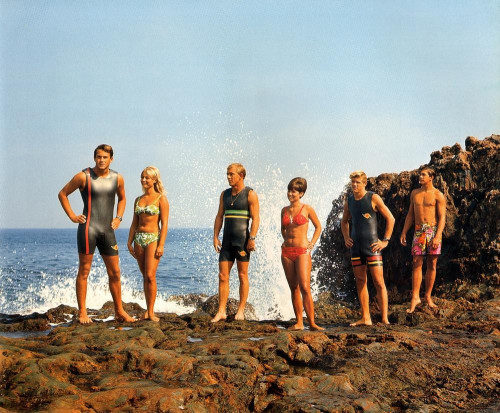 vintage bikinis… another shot (i think) by leroy grannis