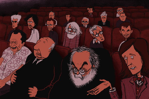 """AT THE MOVIES"" by Phil McAndrew"