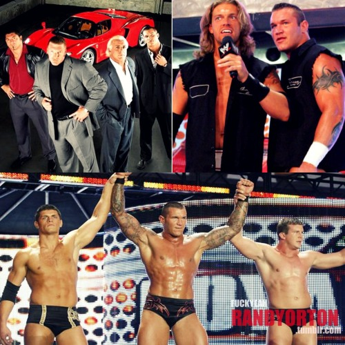 fuckyeahrandyorton:  Evolution (2003), Rated RKO (2006), Legacy (2009). How about for 2012, Randy?