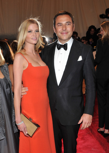 Lara Stone at the 2011 Met Ball wearing Calvin Klein. I think she looks simple yet beautiful. Not everyone has to dress outrageous to stand out.