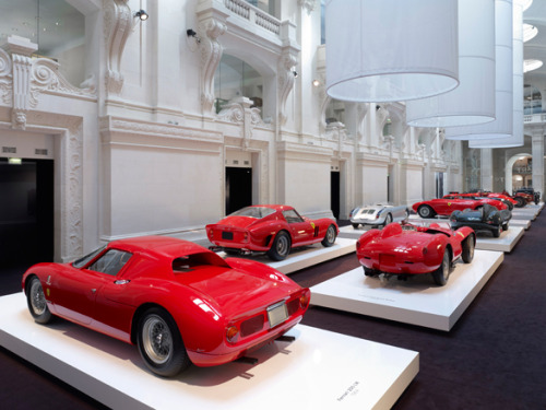 Ralph Lauren's car collection on show in Paris The Musée des Arts Décoratifs is currently playing host to 17 cars from the Ralph Lauren collection, selected by Rodolphe Rapetti, and put on display by Jean-Michel Wilmotte