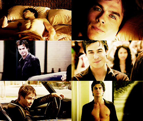 6 Favorite Damon Salvatore CAPS Season 1 || Part 1