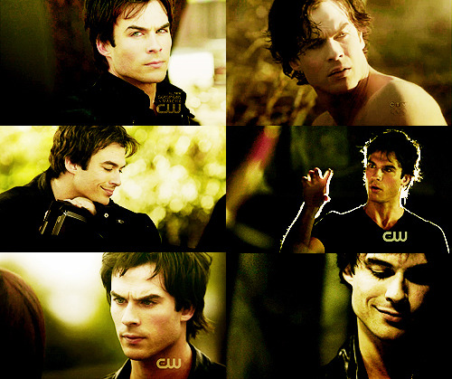 6 Favorite Damon Salvatore CAPS Season 1 || Part 2