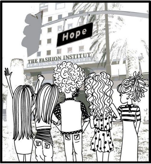 "Stroll Down Hope St. - ""Thanks FIDM"" Time has gone be SO fast. I cannot believe that in less than two months my time at FIDM will be over.  I'm so thankful for the chance to have gone to school with the FIDM experience in downtown LA. I feel like I found a part of me here that I didn't know existed before. The walk along Hope St. led me to find a home in the library, make the beautiful books and people my new friends, watch hours of old movies trying to gain the style and gumption of the leading ladies, and be inspired and touched by the teachers' experience and eagerness to share. It has been exhilarating to be in a classroom full of peers with big ideas and big dreams to match and I can't wait to see what everyone will go on to accomplish.  It is true that ""all good things come to an end"" but I'm truly thankful and feel blessed for having the chance to experience it all and to have met the people that I have.  So for all the June grads: Congratulations, enjoy the last weeks here, and good luck on everything that comes next!"