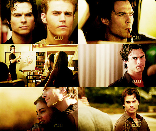 6 Favorite Damon Salvatore CAPS Season 2 || Part 2
